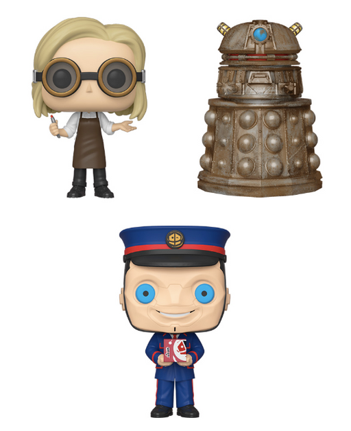[PRE-ORDER] Funko POP! Doctor Who - Set of 3