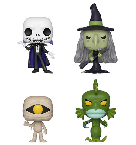 [PRE-ORDER] Funko POP! Nightmare Before Christmas - Set of 4