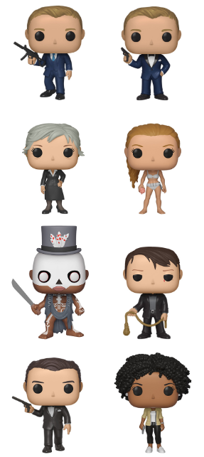 Funko POP! James Bond - Season 2 Set of 8