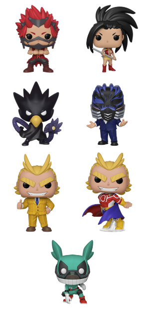 [PRE-ORDER] Funko POP! My Hero Academia - Set of 7
