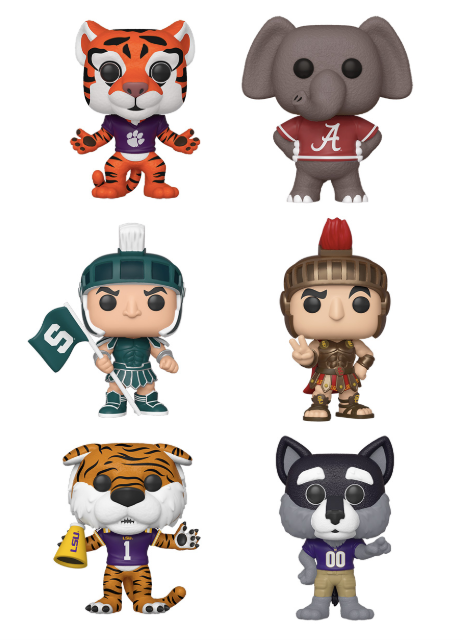 [PRE-ORDER] Funko POP! College - Set of 6