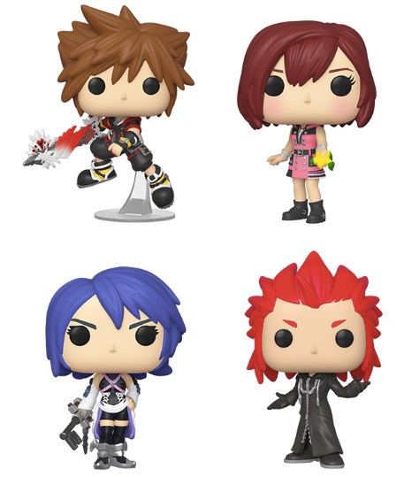 [PRE-ORDER] Funko POP! Kingdom Hearts III - Set of 4