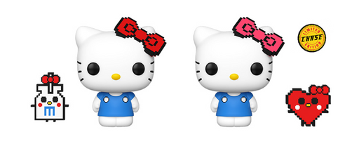 Funko POP! & Buddy: Sanrio: Hello Kitty Anniversary Common and Chase Bundle