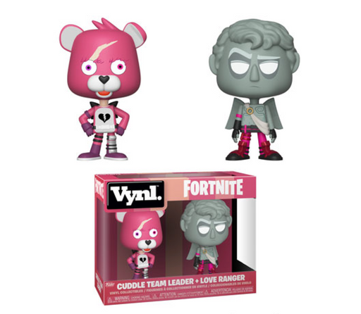 Funko VYNL: Fortnite - Cuddle Team Leader and Love Ranger Vinyl Figures