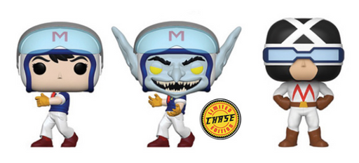 [PRE-ORDER] Funko POP! Speed Racer - Set of 3
