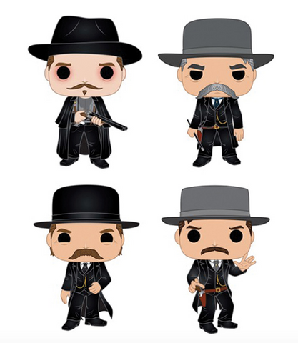 [PRE-ORDER] Funko POP! Tombstone - Set of 4
