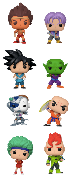 Dragon Ball Z set of 8 Funko