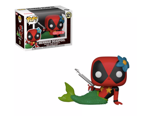 Funko POP! Deadpool - Mermaid Deadpool Vinyl Figure #321 Target Exclusive (NOT 100% MINT)