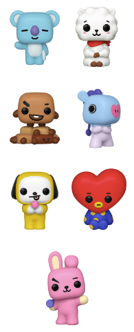 [PRE-ORDER] Funko POP! BT21 - Set of 7