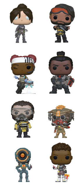 [PRE-ORDER] Funko POP! Apex Legends - Set of 8
