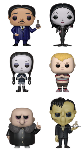 Funko POP! The Addams Family (2019) - Set of 6
