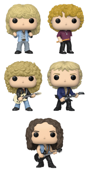 [PRE-ORDER] Funko POP! Rocks: Def Leppard - Set of 5