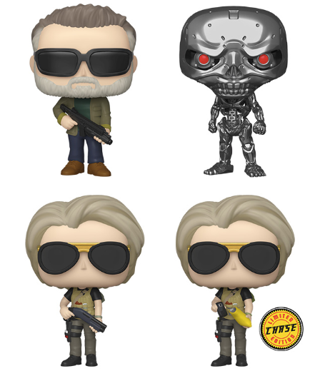 Funko POP! Terminator: Dark Fate - Set of 4