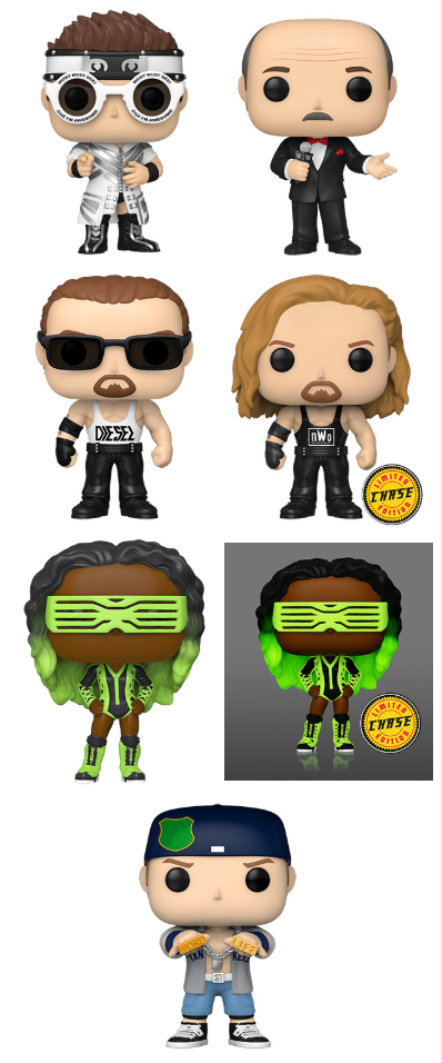 [PRE-ORDER] Funko POP! WWE - Set of 7 Chase Included