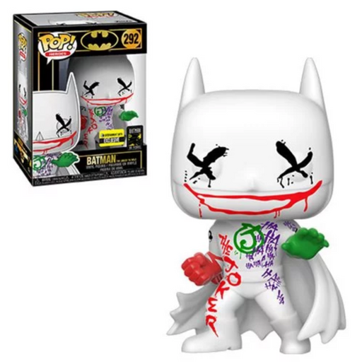 Funko POP! Batman 80th - Batman (The Joker is Wild) Vinyl Figure #292 Entertainment Earth Exclusive [READ DESCRIPTION]