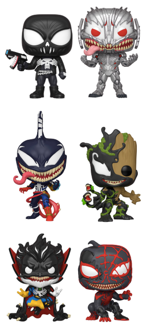 [PRE-ORDER] Funko POP! Marvel: Max Venom - Set of 6