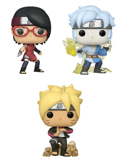 [PRE-ORDER] Funko POP! Boruto: Naruto Next Generations - Set of 3