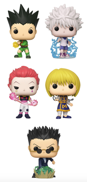 [PRE-ORDER] Funko POP! Hunter X Hunter -  Set of 5