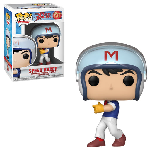 Funko POP! Speed Racer - Speed Racer in Helmet Common Vinyl Figure #737