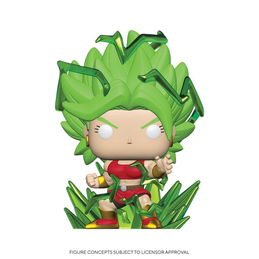 Funko POP! Dragon Ball Super - Super Saiyan Kale (Energy) Common #819 Chalice Exclusive [READ DESCRIPTION]