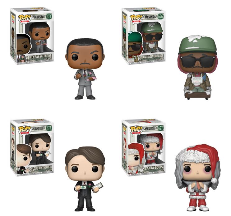 Funko POP! Trading Places - Complete Set of 4