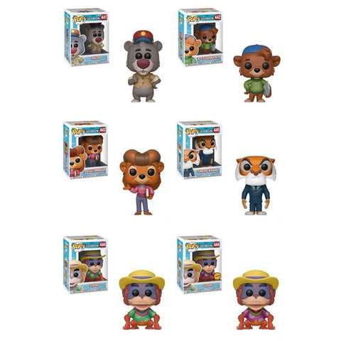 Funko POP! Talespin - Complete Set of 6 Chase Included