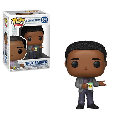 Funko POP! Community - Troy Barnes Vinyl Figures #839