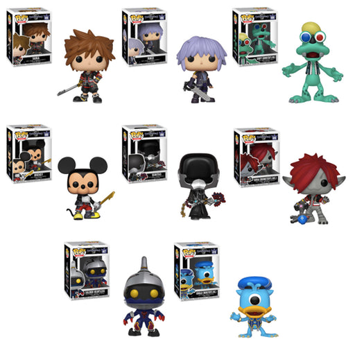 Funko POP! Kingdom Hearts 3 - Complete Set of 8