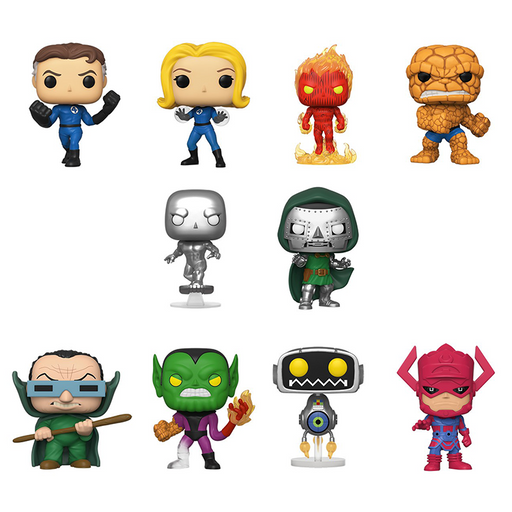 Funko POP! Fantastic Four - Set of 10