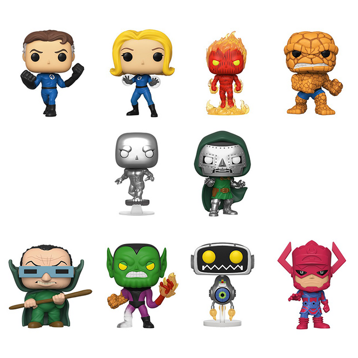[PRE-ORDER] Funko POP! Fantastic Four - Set of 10