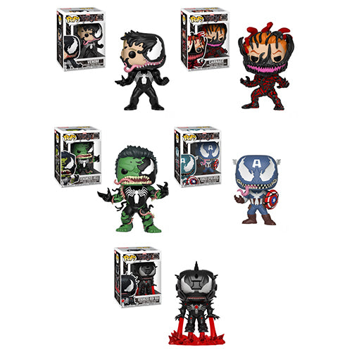 Funko POP! Venom - Complete Set of 5