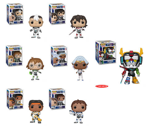 Funko POP! Voltron - Complete Set of 7