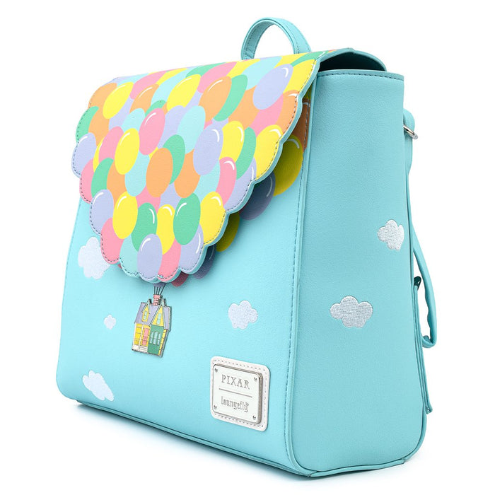 Details about  /Loungefly Disney Pixar Up Balloon Flap House Mini Backpack New With Tags