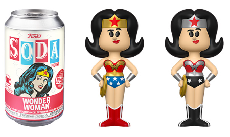 Funko Vinyl SODA: DC Comics - Wonder Woman Vinyl Figure