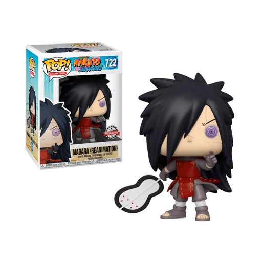 Funko POP! Naruto Shippuden - Madara (Reanimation) Vinyl Figure #722 Special Edition Exclusive [READ DESCRIPTION]