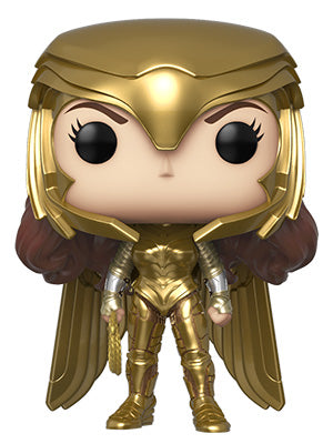 [PRE-ORDER] Funko POP! Wonder Woman 1984 - Wonder Woman Gold Power (Metallic) Vinyl Figure