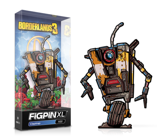 FiGPiN XL: Borderlands 3 - Claptrap #X22