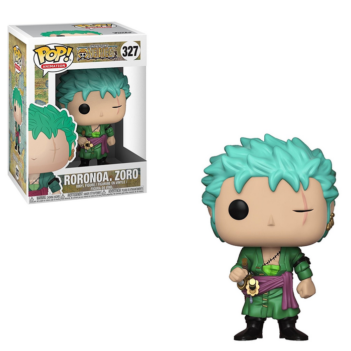 Funko POP! One Piece - Roronoa Zoro Vinyl Figure #327