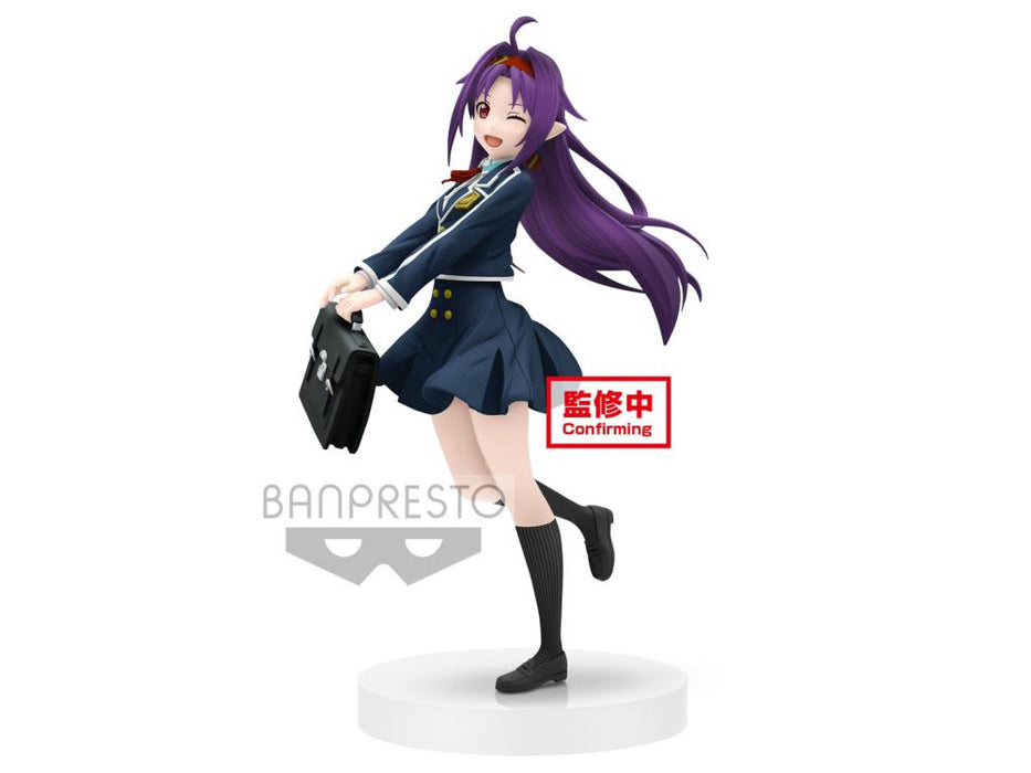 Banpresto: Sword Art Online - Yuuki (School Uniform) EXQ Figure