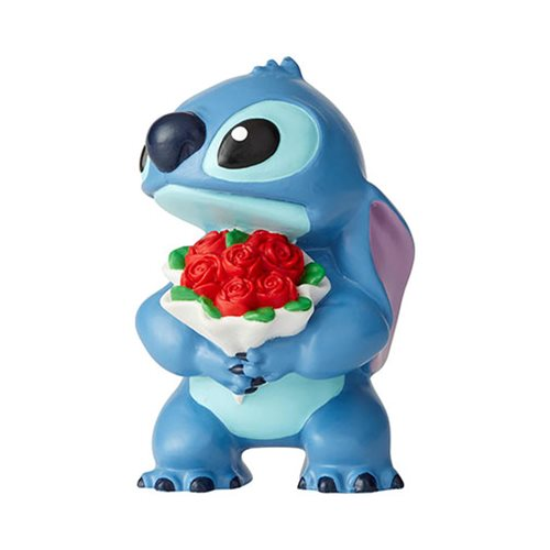 Disney Showcase: Lilo & Stitch - Stitch with Flowers Mini Figurine