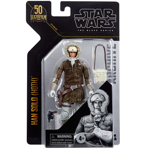 Star Wars: The Black Series Archive - Han Solo (Hoth Gear) 6-Inch Action Figure