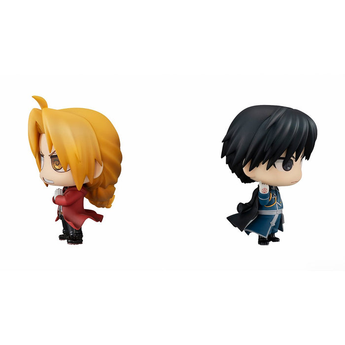 Chimi-Mega Buddy Series: Full Metal Alchemist - Edward Elric and Roy Mustang