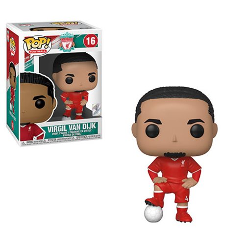 Funko POP! Soccer (Football): Liverpool - Virgil Van Dijk Vinyl Figure #16