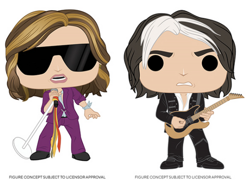 [PRE-ORDER] Funko POP! Rocks: Aerosmith - Set of 2