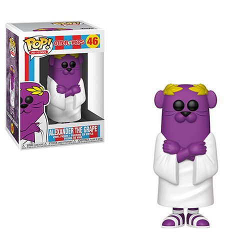 Funko POP! Ad Icons: Otter Pops - Alexander the Grape Vinyl Figure #46