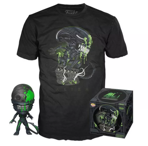 Funko POP! and Tee: Alien 40th Anniversary Collectors Box Target Exclusive