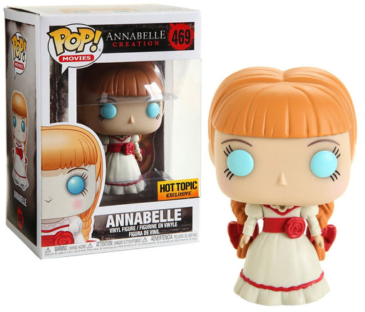 Funko POP! Annabelle Creation - Annabelle Vinyl Figure #469 Hot Topic Exclusive (NOT 100% MINT)