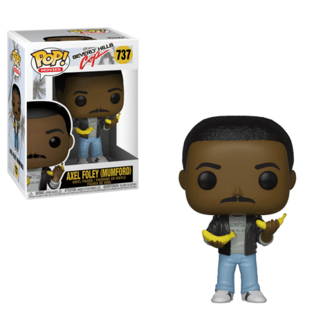 Funko POP! Beverly Hills Cop - Axel Foley (Mumford) with Banana Vinyl Figure #737