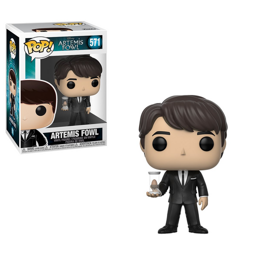 Funko POP! Artemis Fowl - Artemis with Egg Common Vinyl Figure #571