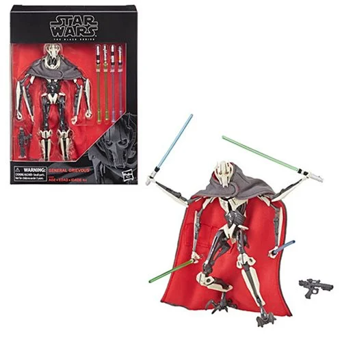 Star Wars: The Black Series - General Grievous (Revenge of the Sith) 6-Inch Deluxe Action Figure